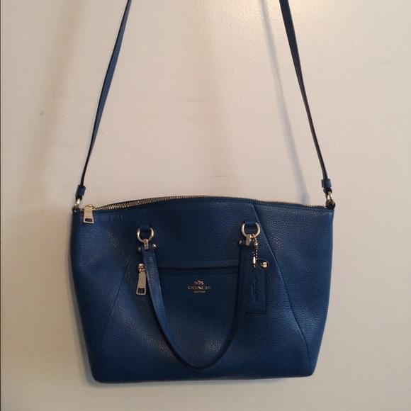 42% off Coach Handbags - Authentic Coach Prairie Satchel Pebble ...