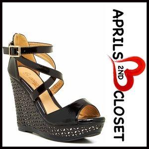 Elegant Shoes - ❗1-HOUR SALE❗️SANDALS Wedge Sandals Heels