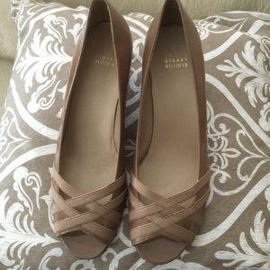 Stuart Weitzman Shoes - Stuart Weitzman open toe low wedge size 11