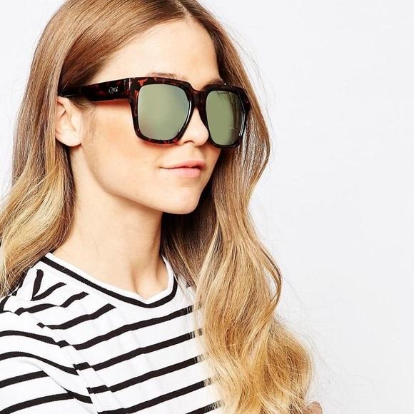 f35d96d08d Quay Accessories - Quay On The Prowl Sunglasses - Tortoise Gold