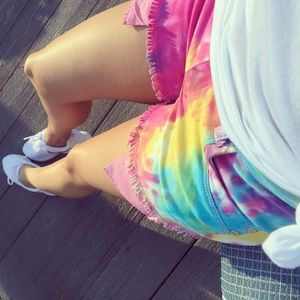 Pants - Closet Clear out💥 Tie dye hot shorts