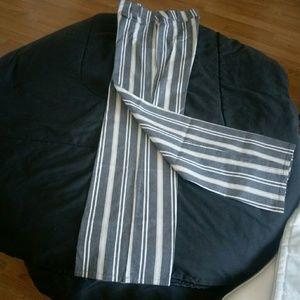 Ann Taylor Loft Pants - Ann Taylor- Loft Striped Pants