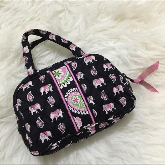 30f2bd10ae Vera Bradley Pink Elephant Mini Bag. M 57103bf2713fdeae83002519