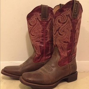 Rocky Shoes - Rocky square toe boots