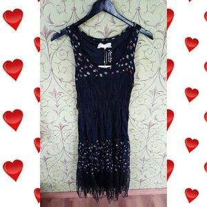 Areve Dresses & Skirts - NWT!!! Leona black lace and floral dress