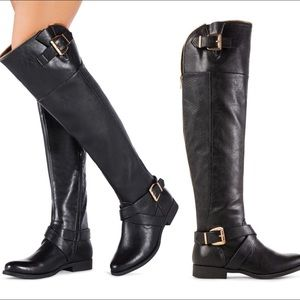 60 justfab shoes knee high boots from kel s closet