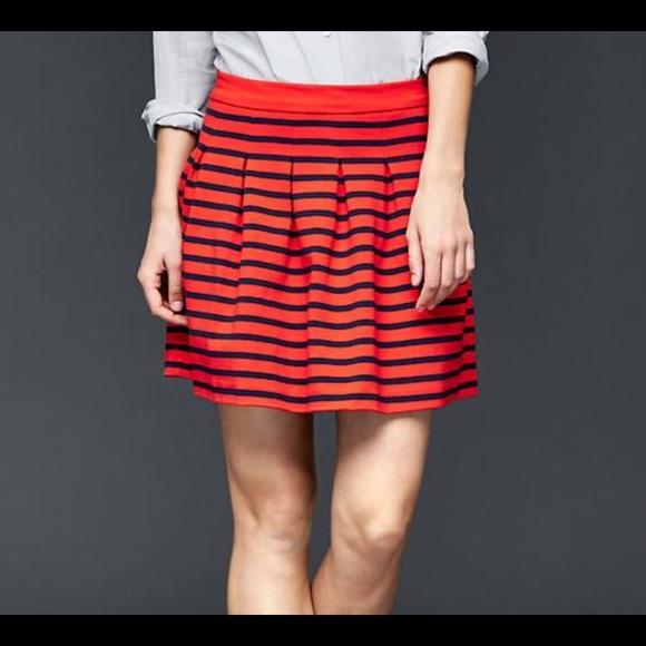 22 gap dresses skirts gap striped pleated circle