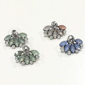 Jewelry - NEW Florette Fan Earrings