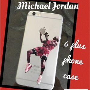Accessories - Michael Jordan IPhone 6plus phone case