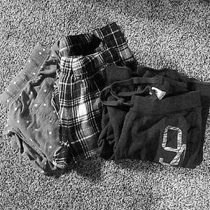 Pajama/sweat pants bundle!