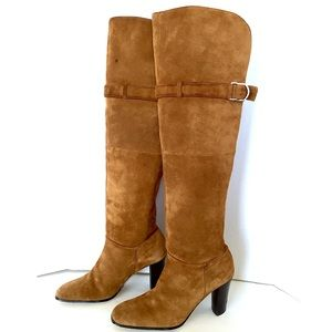 b9d2e81d858 Naturalizer Shoes - NATURALIZER Suede Over the Knee Boots 7.5