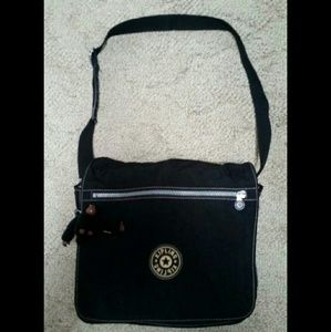 NWOT Large Kipling Expandable Messenger Bag