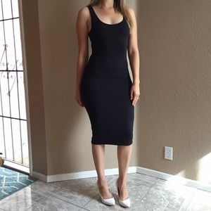 Dresses & Skirts - Black Midi Tank Dress (LAST SMALL!)