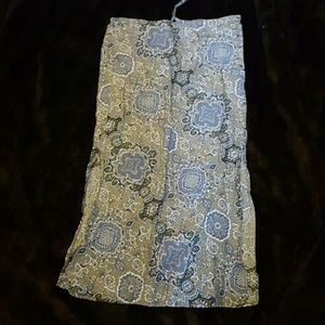 Old Navy boho skirt size 6
