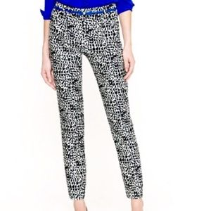 J. Crew Pants - 🎉Final Price🎉 J Crew NWT Abstract Leopard Pant