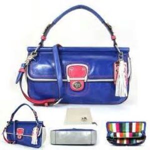 Coach Colorblock City Willis bag