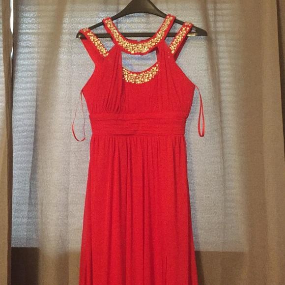 fd6a93c8a4a Trixxi red  rhinestone prom dress size7😍🍒. M 571135ed5a49d08ba1007a37