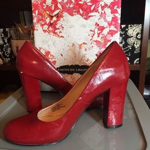 Chinese Laundry Devote red pump SALE