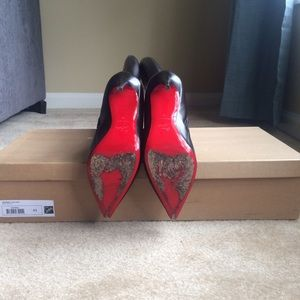 5682ac85f5c Christian Louboutin Tournoi leather boots size 41