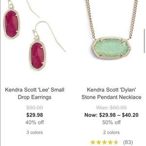 Kendra Scott Jewelry - Kendra Scott sale!