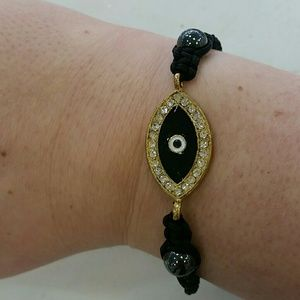 Jewelry - NEW ARRIVAL Adjustable evil eye bracelet