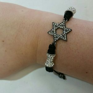 Jewelry - NEW ARRIVAL Adjustable star of David bracelet