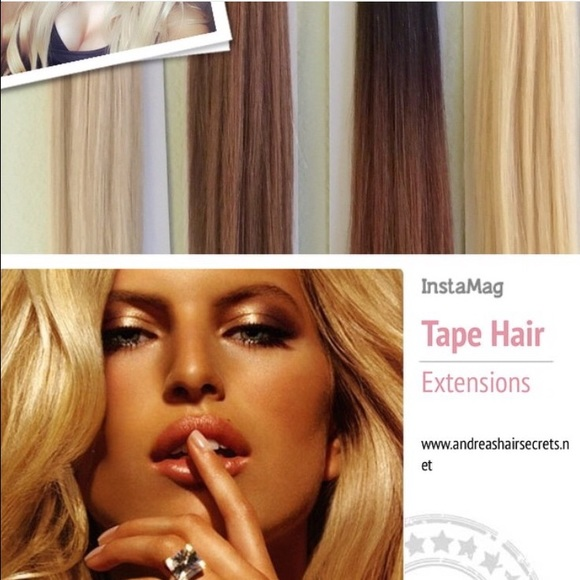 Andreas Hair Secrets Other 40 Pc 20 Tape Extensions 22 Champagne
