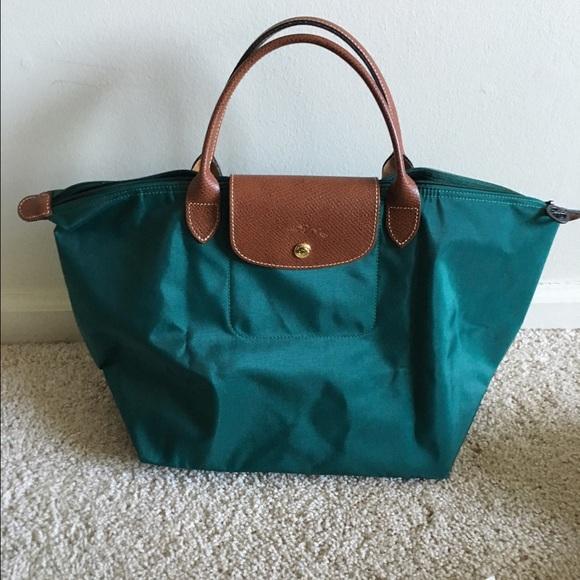 Longchamp Medium Bag - Short handles