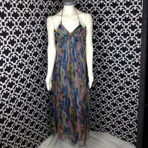 🆕LISTING TCEC Multicolored String Halter Dress