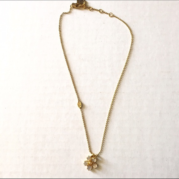 Juicy couture jewelry juicy couture flower necklace poshmark juicy couture flower necklace aloadofball Gallery