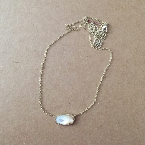 c08db3e0666e2 Elisa Necklace in Ivory Pearl