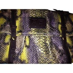 Adolfo Dominguez Handbags - Adolfo Dominguez multi color clutch