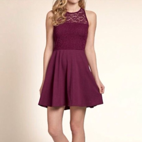 78 off hollister dresses amp skirts maroon hollister