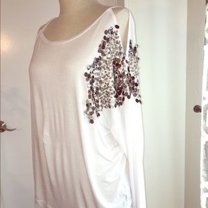 Stella and Jamie shirt with sequin - Large