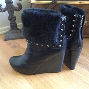 Two Lips Shoes - Sexy NEW Two Lips Black Boots Booties Sz 10
