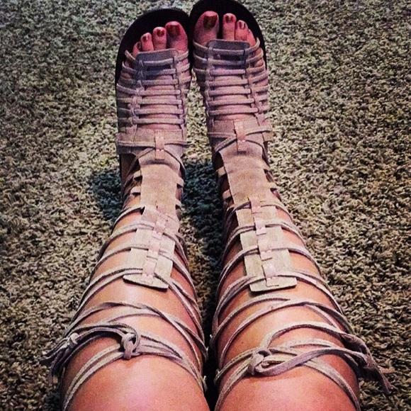 4c7dd7c8074 Free People Shoes - Free people sun seeker tall sandals