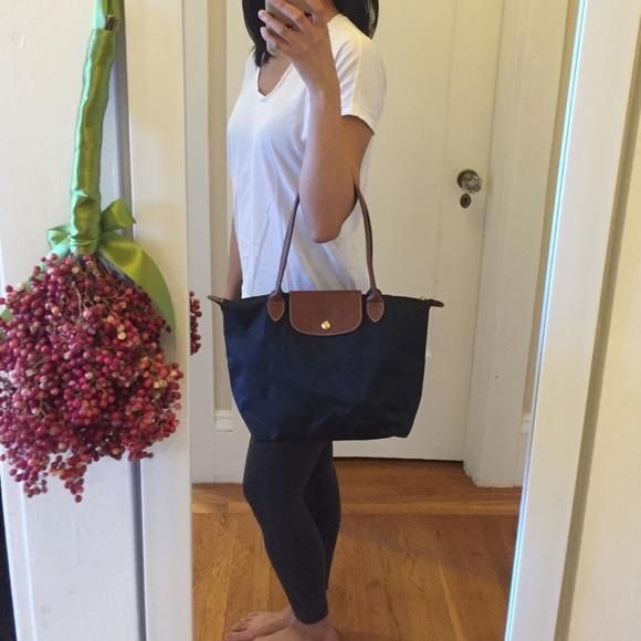 c37493bd785c3 Longchamp Handbags - Longchamp Le Pliage Medium Shoulder Bag