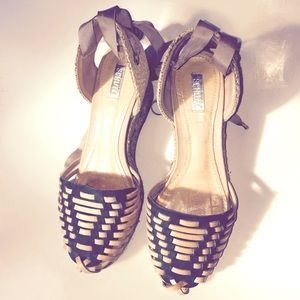 Schultz Shoes - Schultz leather espadrilles