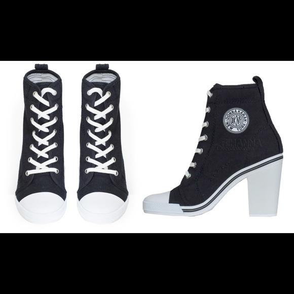 DKNYC Shoes   Dkny High Heel Sneakers