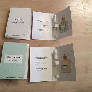 Carven Other - Carven 4 samples 2 Le Perfum 2 L'Eau de toilette