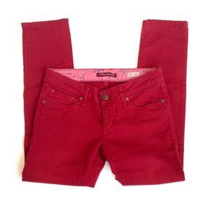 Mavi Denim - Mavi 'Lindy' Red Skinny Jean, Sz 26/32