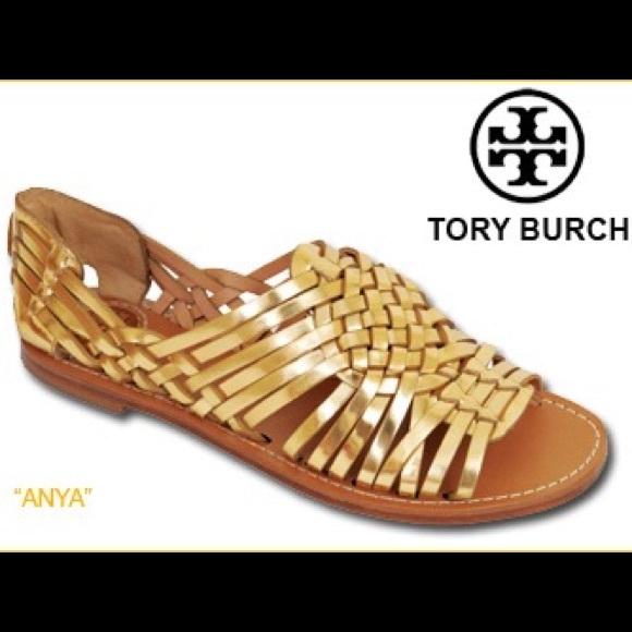 698f3e765098 Tory Burch huarache sandals. M 5711b5466d64bc608f02902a