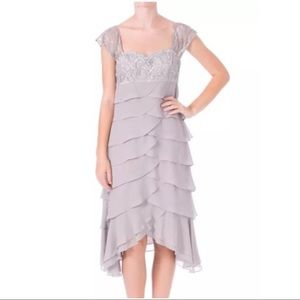 Sue Wong Dresses & Skirts - SUE WONG SILVER TIER DRESS ~ NWT