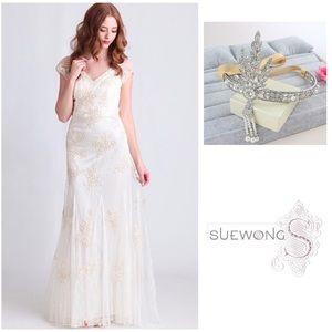 sue wong prom dress on Poshmark