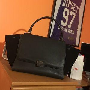 Black Celine Trapeze Bag