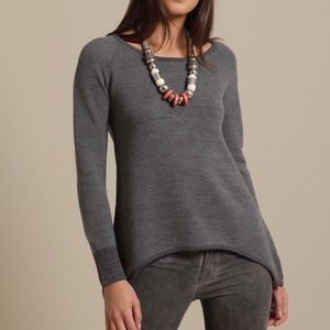 Geren Ford Sweaters - OMG!! Geren Ford Waffle Knit Asymmetric Sweater XS