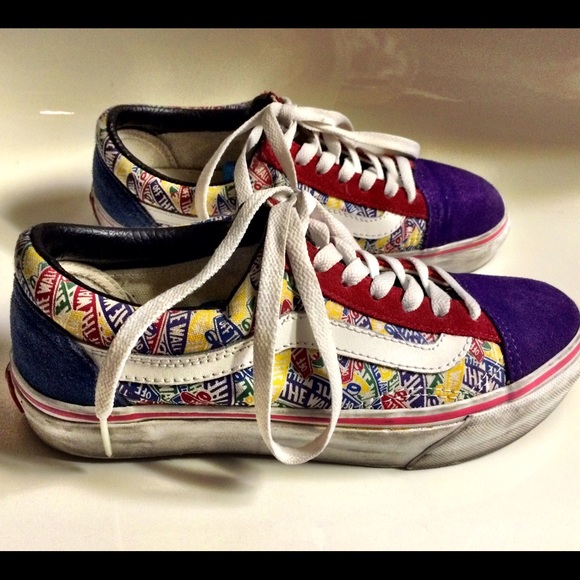 VANS Custom Classic Colorful Sneakers Shoes