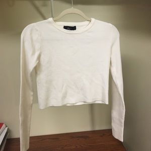NWOT Forever 21 Sweater Crop Top