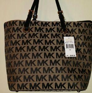 Michael Kors Signature Grab bag handbag
