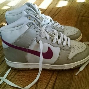 60 Off Nike Shoes Rose Gold Sky Hi Dunks From Beys S